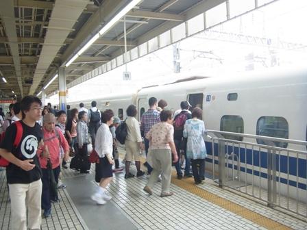 いざ新幹線!